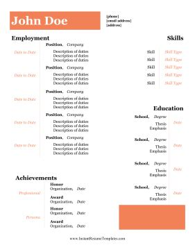 How to Optimize a Two Page Resume - How To Write a Resume